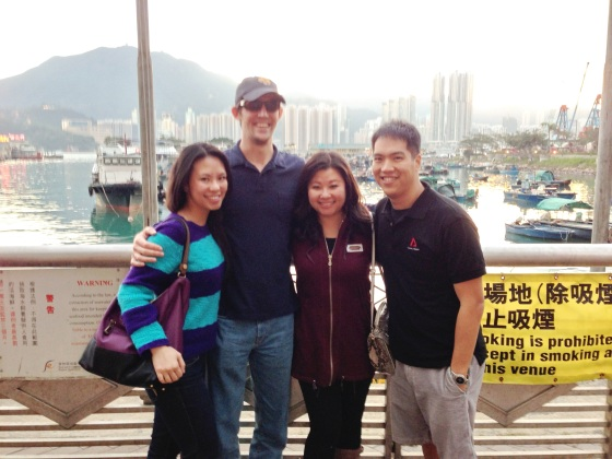 fishing village group pic