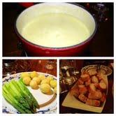 fondue collage