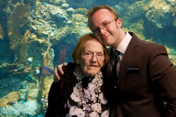 joe and grandma