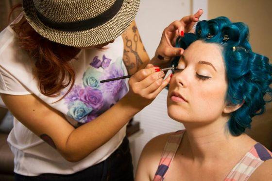 liz makeup