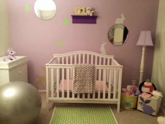 front crib view