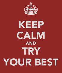 try best